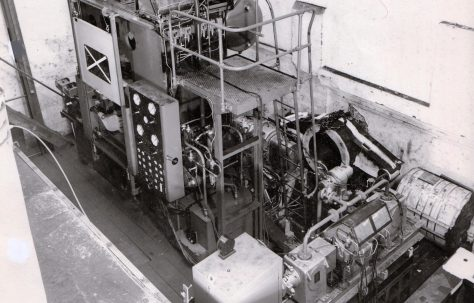 600 ton 'Fittings' Press, O/No. 63600, c.1963