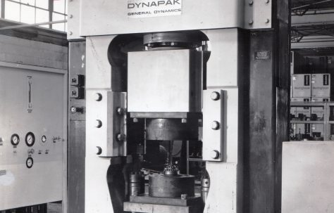 1220D 'Dynapak' High Energy Rate Forming Machine, c.1960