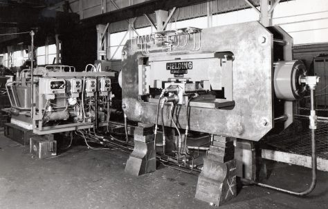 120 ton Sleeper Punching Press, O/No. 63500, c.1964