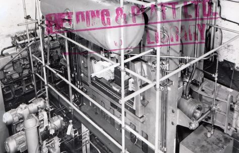700 ton 'Fittings' Press, O/No. 63690, c.1964