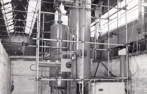 1000 ton Vertical Tubular Extrusion Press, O/No. 64090, c.1964