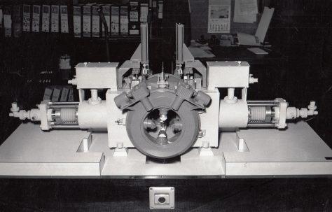 Model of a Cogging Forge Press, c.1965