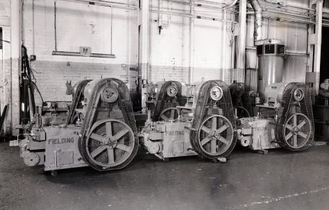 H3 Pumps with overhead mounted motors, O/No. 65440, c.1966