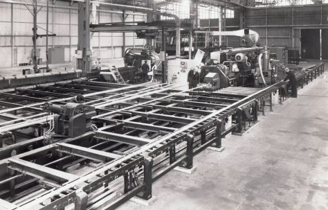 2750 ton Horizontal Extrusion Press, views taken on site, O/No. 66260, c.1966