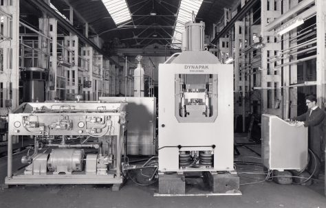620D 'Dynapak' High Energy Rate Forming Machine, O/No. 65450, c.1966