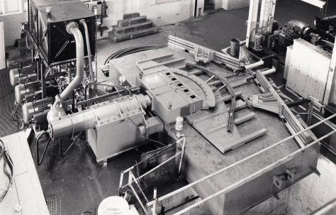 120 ton Colliery Arch Bender, O/No. 65130, c.1966