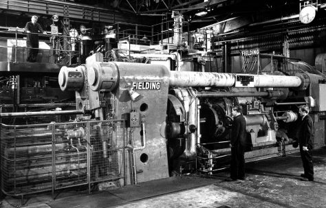 3500 ton Horizontal Extrusion Press, O/No. 61360, c.1961