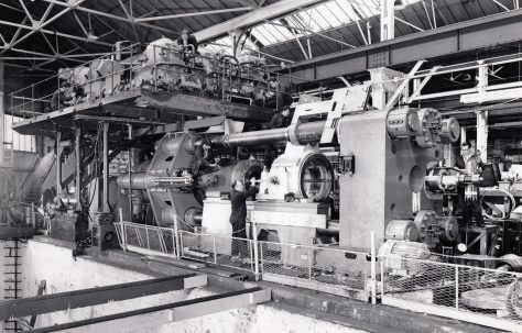 Photograph of Hydraulic No.1 Heavy Machine and Fitting Shop