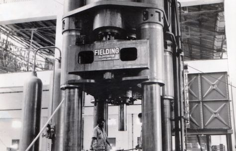 3000 ton Forging/Extrusion Press, view taken on site in 1966, O/No. 61370, c.1961