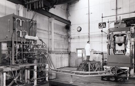 1220D 'Dynapak' High Energy Rate Forming Machine, under construction, O/No. 66430, c.1967