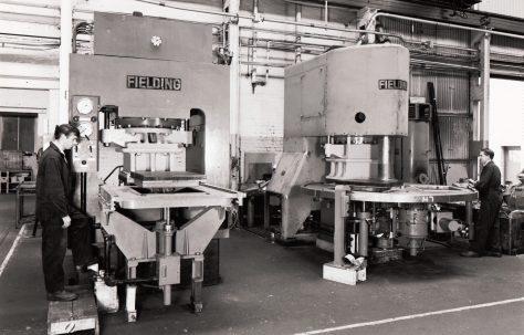 400 ton Single-Mould and Three-Mould Slab Presses, c.1967