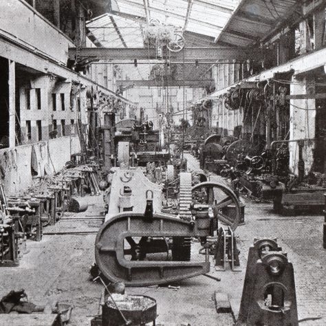 View of the Machine Shop on 15/05/1905    D7338/14/5/17/7010 (Ex 1742) | Gloucestershire Archives