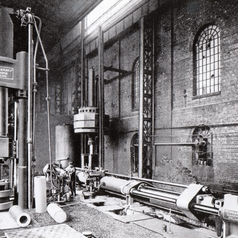 Piercing Press and Drawing Press for shell production, 1st World War    D7338/14/5/17/7019 | Gloucestershire Archives