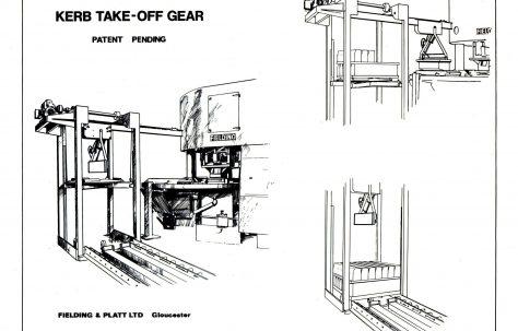 Artists impression of a Kerb Take - off gear, c.1968