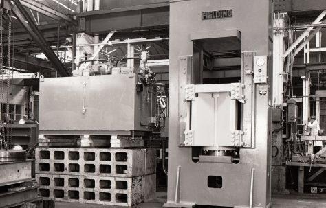 400 ton Upstroking Press, O/No. 67500, c.1968