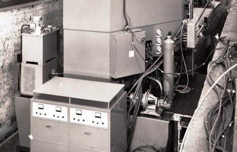 SM108 Spark Erosion machine, O/No. X70000, c.1968