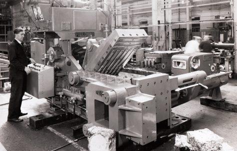 """12"""" Heavy Duty Cube Baler, O/No. 67550, c.1968"""