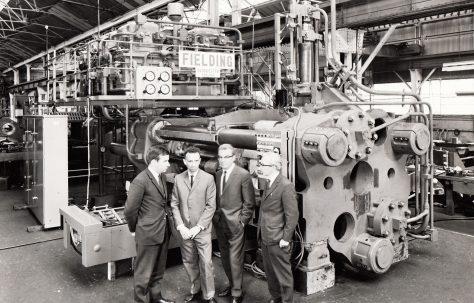 1600 ton Horizontal Extrusion Press, O/No. E73370, c.1969