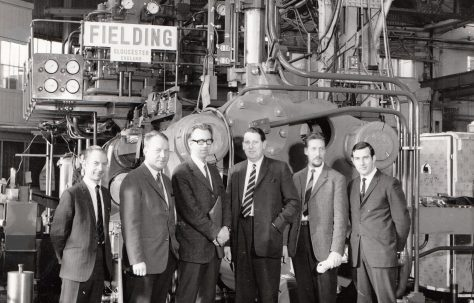 1600 ton Horizontal Extrusion Press, with client visit and on site, O/No. E74280, c.1969