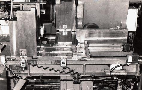 1600 ton Horizontal Extrusion Press Die Change System, O/No. E74280, c.1969