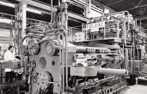 1600 ton Horizontal Extrusion Press, O/No. E75540, c.1971