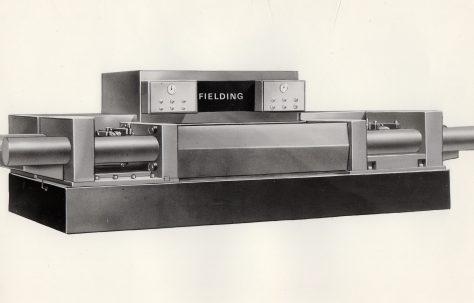 Artist's impression of the 'Fielding' DDI version of a KMT Press, c.1970