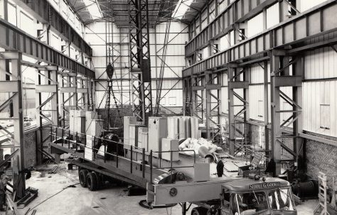 Photographs of the 'New' Heavy Assembly Shop under construction, Part 2 of 3