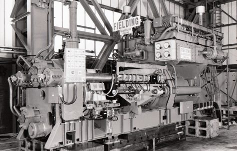 900 ton Horizontal Extrusion Press, O/No. E76970, c.1970