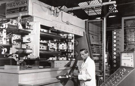 Redman Bumper Bar Forming Machine for Eastern Europe, c.1972