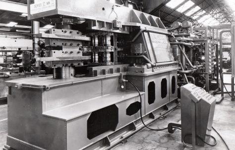 Redman, Series 6, Mk 2, Hydraulic Bumper Bar Forming Machine, c.1972