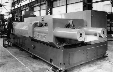 200 ton Double-Ended Deep Drawing & Ironing Machine, O/No. V82480, c.1973