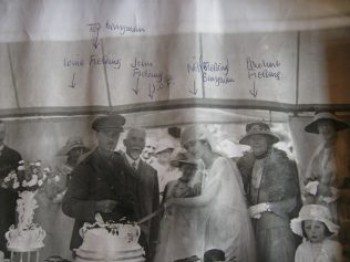 Nell's marriage to Edward Bennyman.  You can click on the image to see a larger version of it | Audrey Meredith
