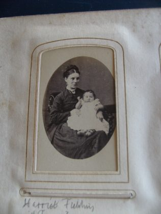 Frank with his mother Harriet.  You can click on the image to see a larger version of it | Audrey Meredith