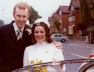 Alistair and Dulcie on their wedding day | Alistair Adams