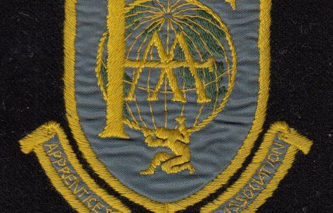 Fielding's Apprentices' Association badge