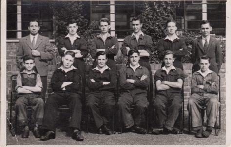 Apprentice intake 7 February 1949