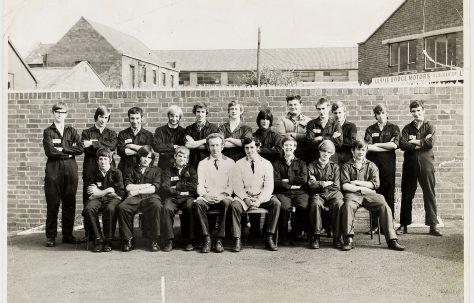 Apprentice intake 1971