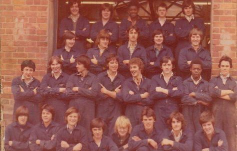 Apprentice intake 1977