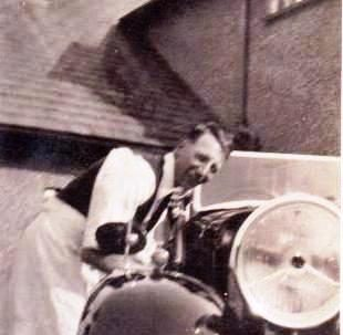 Chauffeur Arthur Jones!