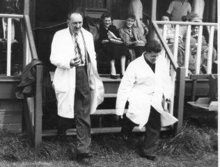 Apprentice Cricket at Worcester 1955