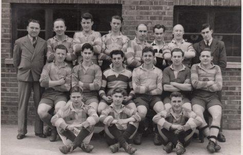 Atlas Works' rugby team 1948-1949