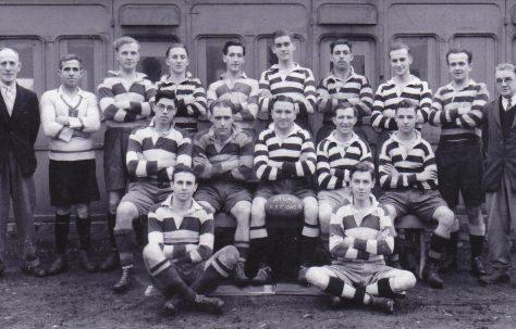 Atlas Works' rugby team 1945-1946