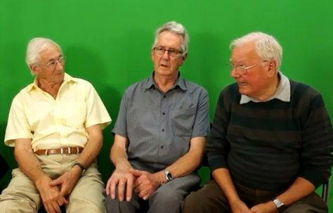 David Jones, Gerald Moore, and Bev Minett-Smith