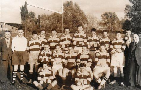 Atlas Works' rugby team, 1958