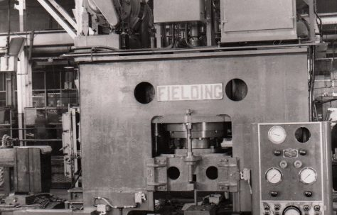 Photographs of Fittings Presses