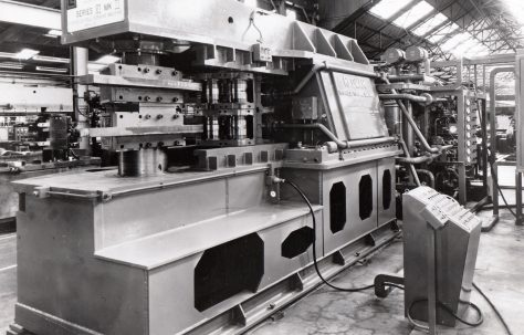 Photographs of Redman Roll Forming Machines