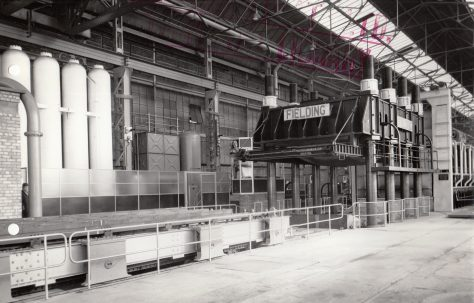 Photographs of Flanging Presses