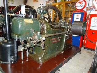 Engine after restoration and showing cracks in the other side of the base | Trevor Hill