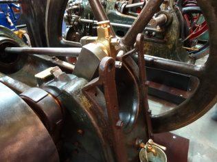 Brackets for tie bars at rearof main bearings | Trevor Hill