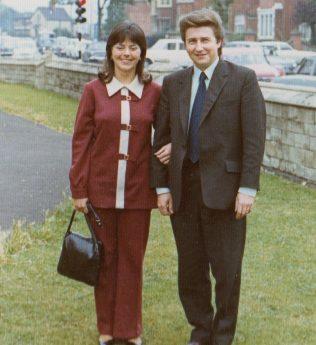 Wedding guests Derek and Lorraine Tidmarsh | Alistair Adams